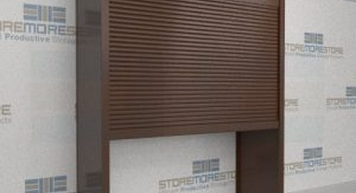 Rolling Security Doors for Sliding Mobile Shelving