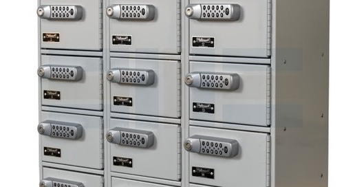 Cell Phone Lockers with Digital Locks for Small Electronics
