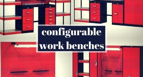 Modular Workbench Systems | Cabinets | Lockers | Shelving