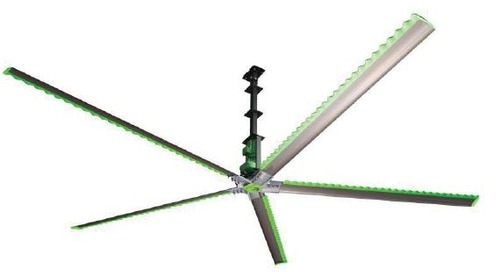 Industrial Fans & Wind-Powered Turbines Improve Air Quality