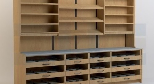 Pharmacy Casework Medication Dispensing Cabinets