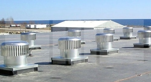 Wind Turbines Ventilate Your Space Without Electricity