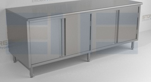 Stainless Steel Products Provide Clean Storage Solutions