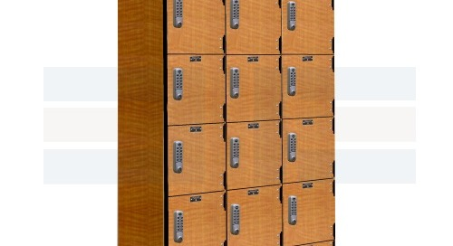 Phenolic Bacteria Resistant Lockers for High Humidity & Moisture Areas