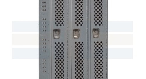 Ventilated Box Lockers Provide Airflow for Dry Storage