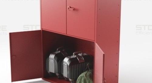 Duffel Bag & Luggage Lockers for Oversized Storage