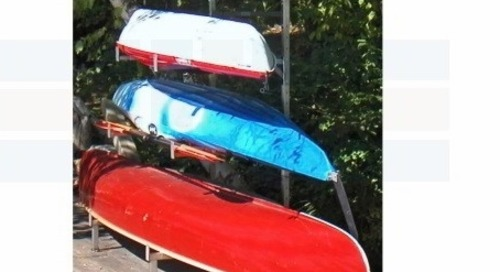 Canoe Kayak Racks | Stainless Steel Wall & Dock Storage