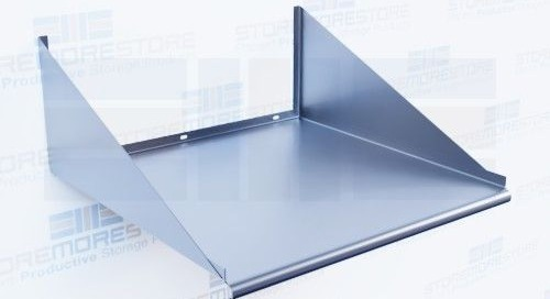 Stainless Wall Mounted Shelves for Labs, Kitchens, Cleanrooms