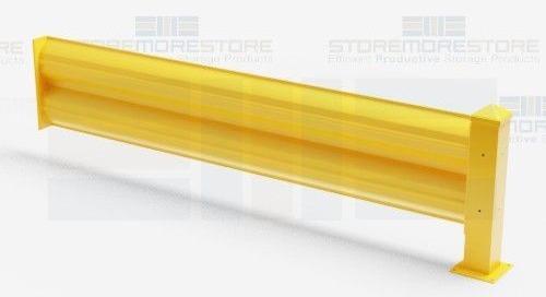 Machine Guardrails | Warehouse Pedestrian Yellow Safety Barriers