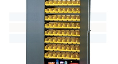 Removable Bin System Heavy-Duty Storage Cabinets