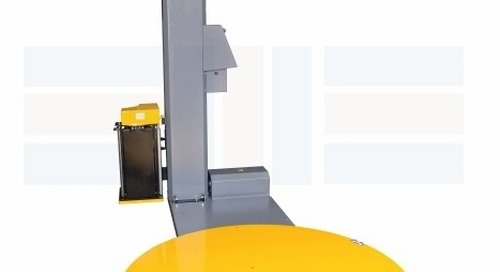 Automatic Pallet Stretch Wrap Machines for Packaging & Shipping
