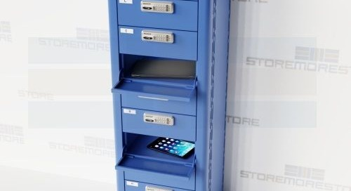 Laptop Charging Lockers | Powered Electronics Device Storage