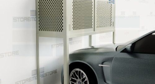 Parking Space Storage Lockers for Condos & Apartment Garages
