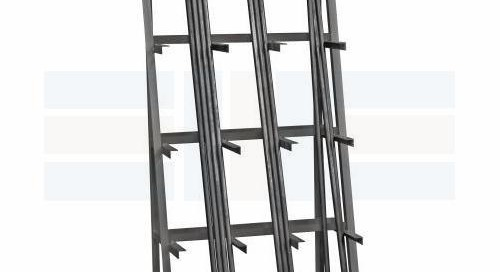 Pipe Storage Racks for Vertical & Horizontal Long Materials