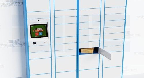 Smart Parcel Lockers for Last-Mile Delivery Storage & Pickup