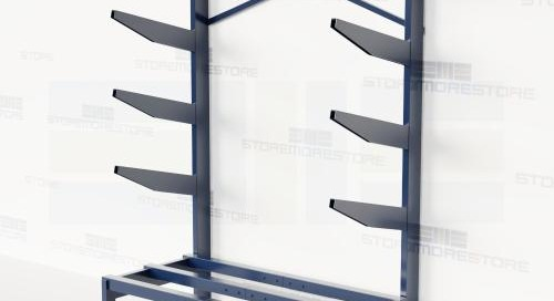 Cantilever Racks Bar Stock & Pipe Storage Shelving