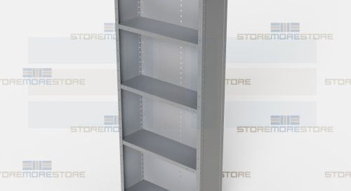 Angle Type Shelving | Quick Ship Open & Closed Industrial Racks