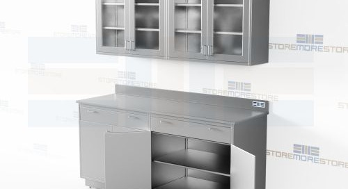Stainless Steel Cabinet Kits Upper & Lower Counter Units