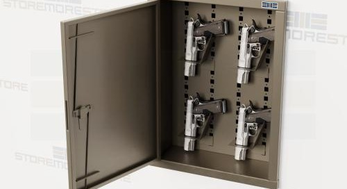 Recessed Weapon Lockers | In-Wall Gun Storage Cabinets