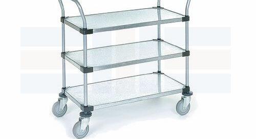 NSF Certified Shelving Storage Carts | Mobile Utility Racks