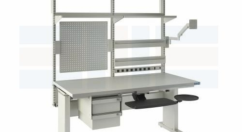 Height Adjustable Workbenches Electric & Manual