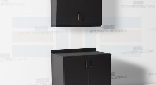 Workroom Casework Counters & Upper Wall Cabinets