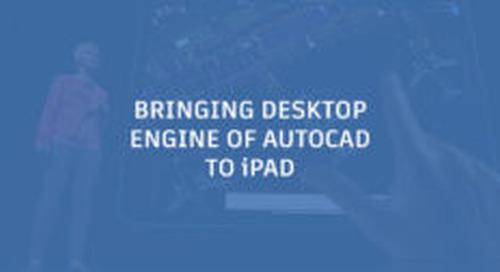 Autodesk Brings Core Desktop Engine of AutoCAD to iPad