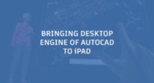 Autodesk Brings Core Desktop Engine of AutoCAD to iPad