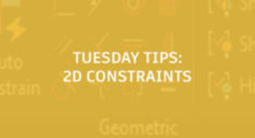 2D Constraints for Civil People: Tuesday Tips With Seth