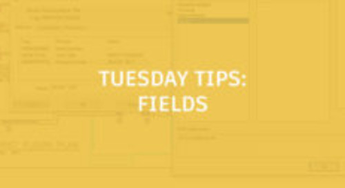 Fields – Make Your Text Smarter: Tuesday Tips With Brandon