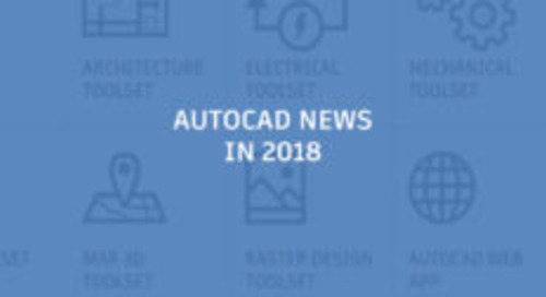 A Look Back at AutoCAD News in 2018