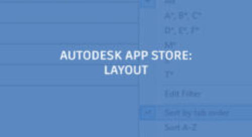Apps Help Save Time With Layouts in AutoCAD