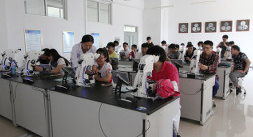 First Digital Metallurgy Classroom in China
