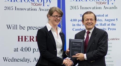 ZEISS MultiSEM wins Microscopy Today Innovation Award