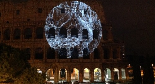 INVINCIBLE – Science Meets Art as the Colosseum Becomes a Living Artwork