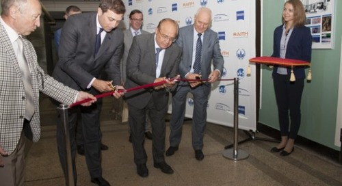Lithography and Microscopy Center opens at Moscow State University