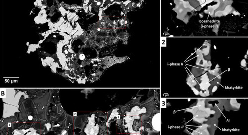 One of the rarest crystals on Earth has been found in a Russian meteorite