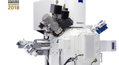 ZEISS Crossbeam 550 receives German Design Award 2018