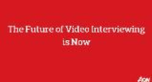Webinar - The Future of Video Interviewing is Now: vidAssess-AI product demo