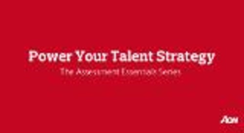 Proving the Business Impact of Talent Assessment