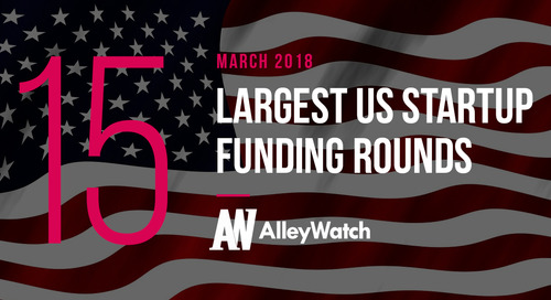 Comment on The 15 Largest US Startup Funding Rounds of March 2018 by The 15 Largest US Startup Funding Rounds of March 2018 – Budejicky Mana