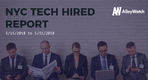 NYC Tech Hired: 6/1/18