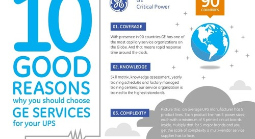 10 Good Reasons Why You Should Choose GE Services for Your UPS