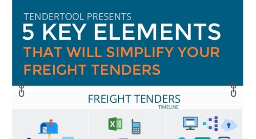 5 Ways TenderTool will simplify your freight tenders