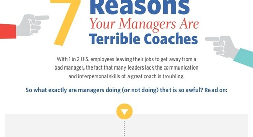 7 Reasons Your Managers Are Terrible Coaches