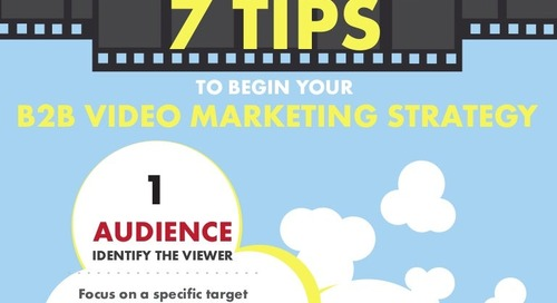 7 tips to begin your B2B Video Marketing Strategy