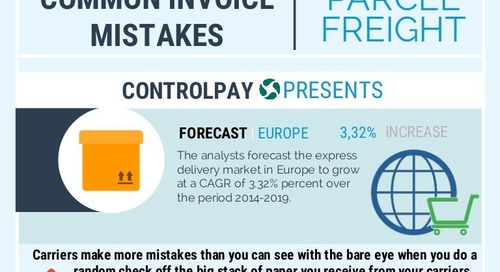 Common parcel freight invoices mistakes