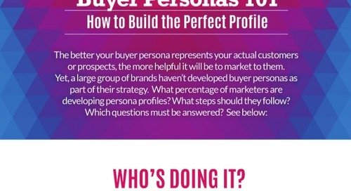 Buyer Personas 101: How to Build The Perfect Profile