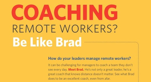 Coaching Remote Workers? Be Like Brad
