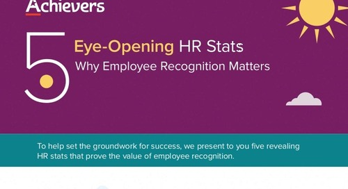 5 Eye-Opening HR Stats: Why Employee Recognition Matters [INFOGRAPHIC]